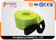 4 in x 30 ft Heavy Duty Tow Straps 20000 Lb Capacity , Polyester Heavy Duty Webbing Straps