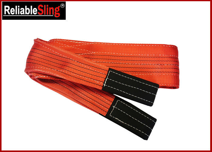Double ply Polyester Flat Webbing Sling Industrial Rigging Straps From 1m to 12 m