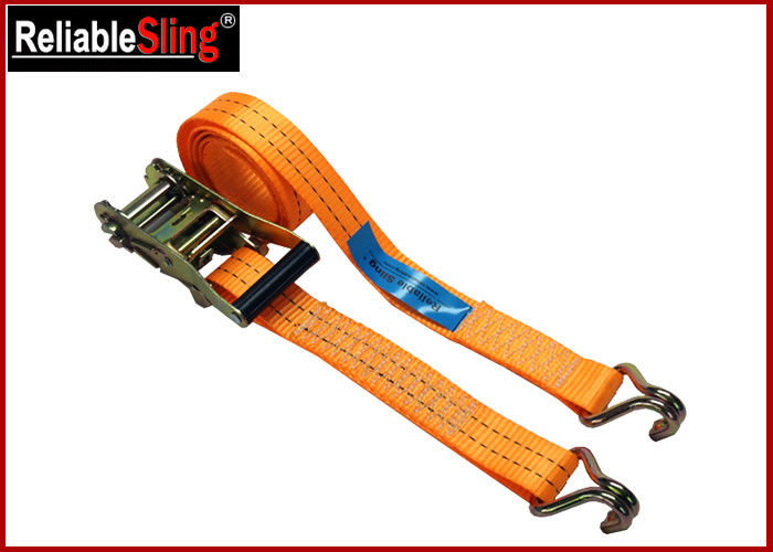 High Strength Ratchet Tie Down Strap For Trucks Color Customized with Claw hook