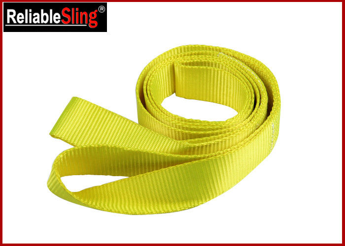 Polyester Loop Car Heavy Duty Recovery Tow / Towing Straps Single Ply
